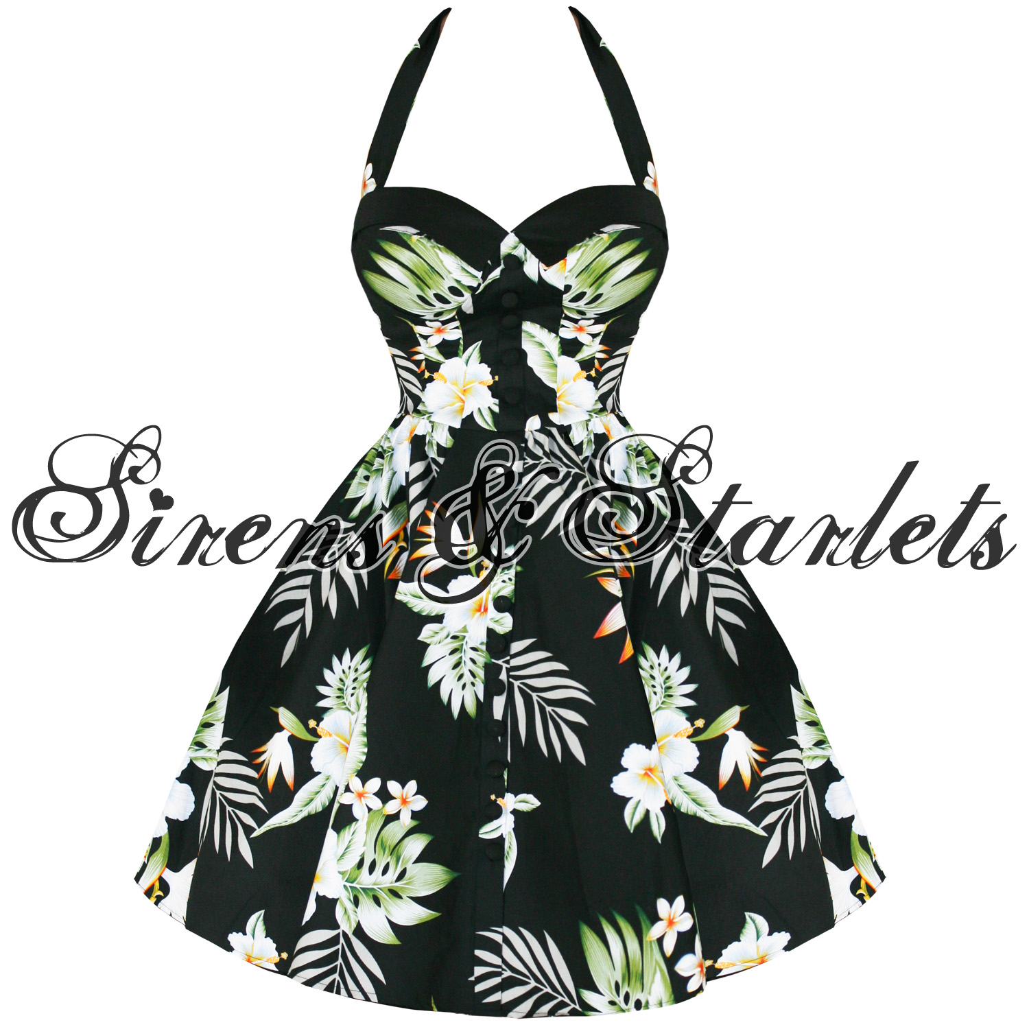 HELL-BUNNY-KIKI-BLACK-TROPICAL-FLORAL-50S-PROM-DRESS