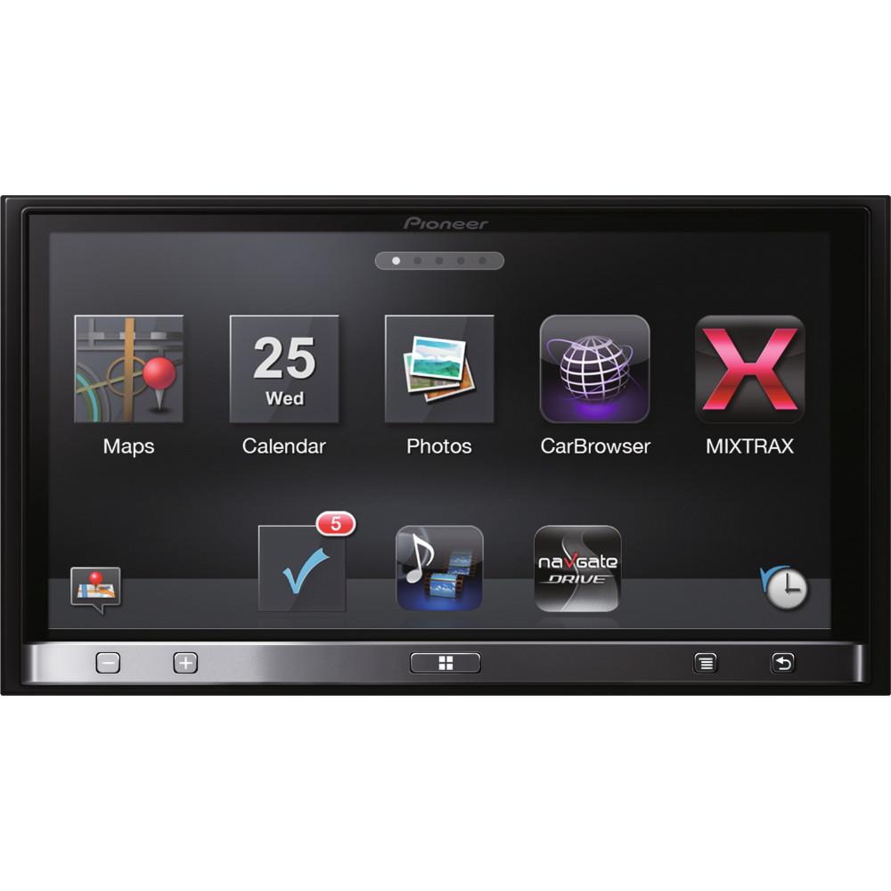 pioneer sph da110 app radio 3 car stereo for iphone 4 4s 5 and android ebay. Black Bedroom Furniture Sets. Home Design Ideas