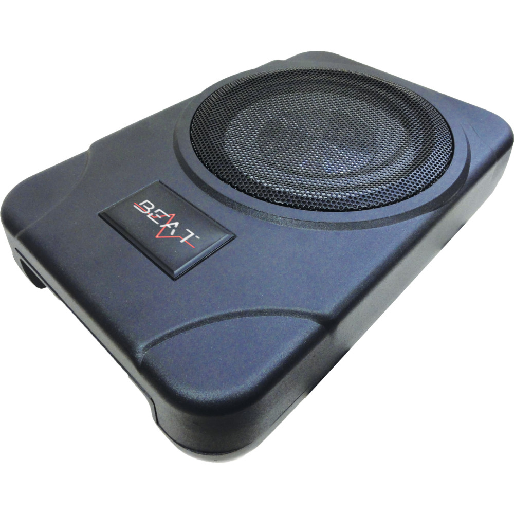 beat bsw8act 8 under seat active car audio subwoofer ebay. Black Bedroom Furniture Sets. Home Design Ideas