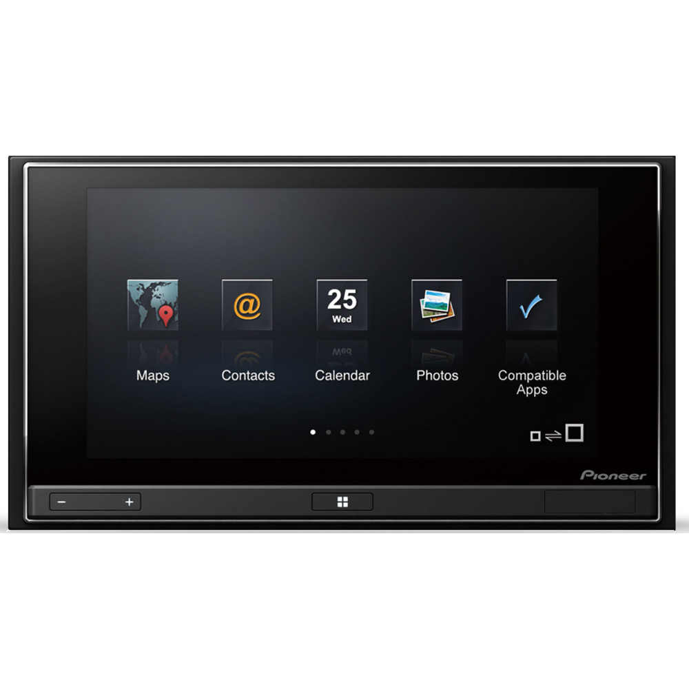 pioneer sph da02 appradio for iphone 4 with multi touch ebay. Black Bedroom Furniture Sets. Home Design Ideas