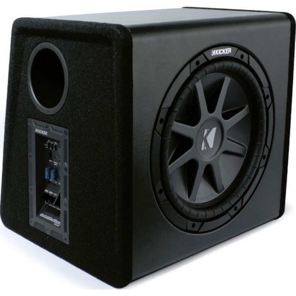 Kicker Pecvr12 Substation Car Audio Powered Subwoofer Box