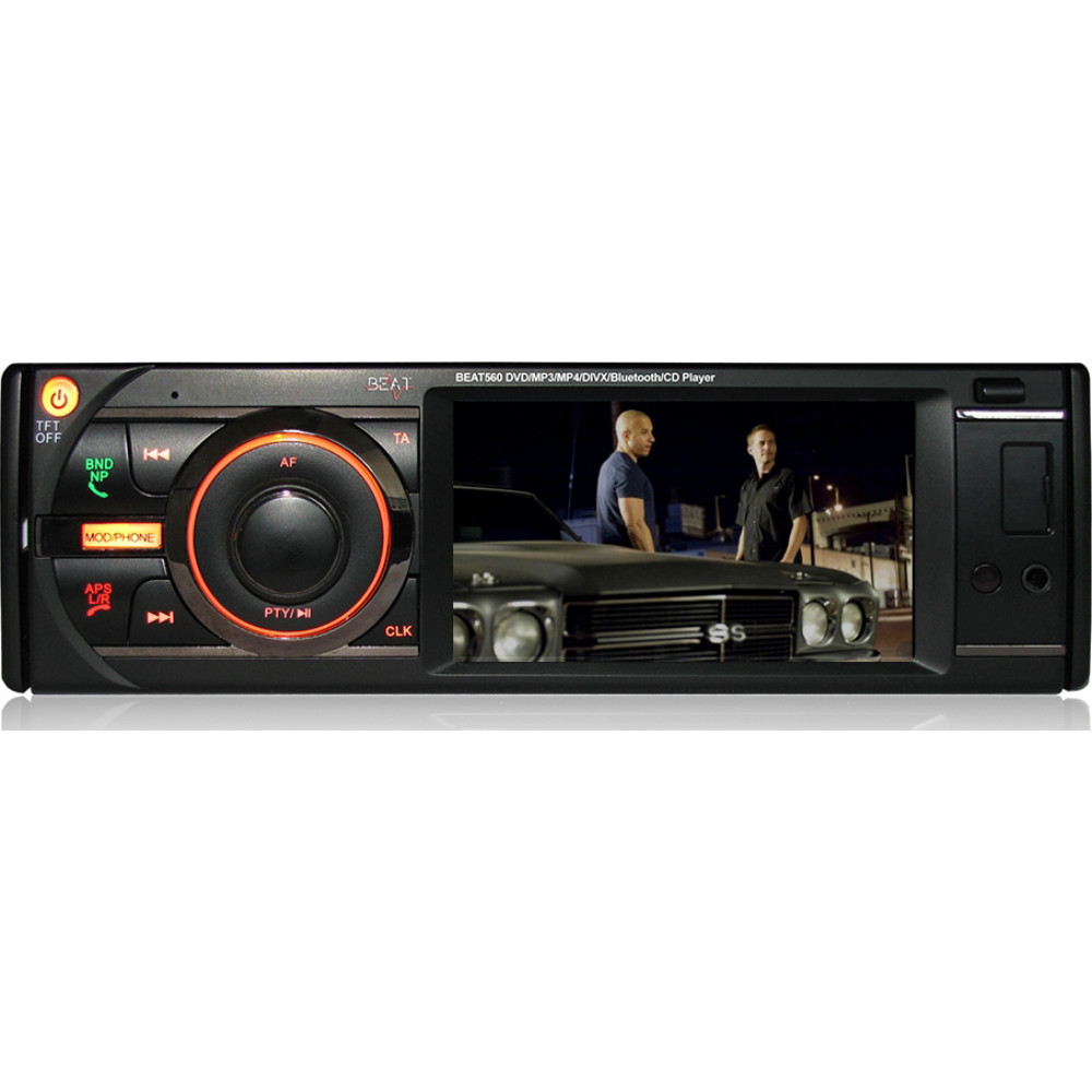 Beat 560 DVD Touch Screen Car Stereo With USB / SD