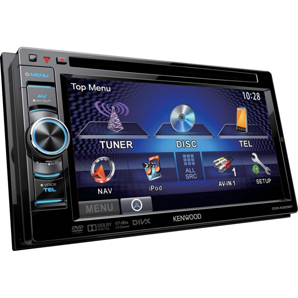 kenwood ddx 4023bt 2 din dvd 6 car stereo touch screen bluetooth ipod control ebay. Black Bedroom Furniture Sets. Home Design Ideas