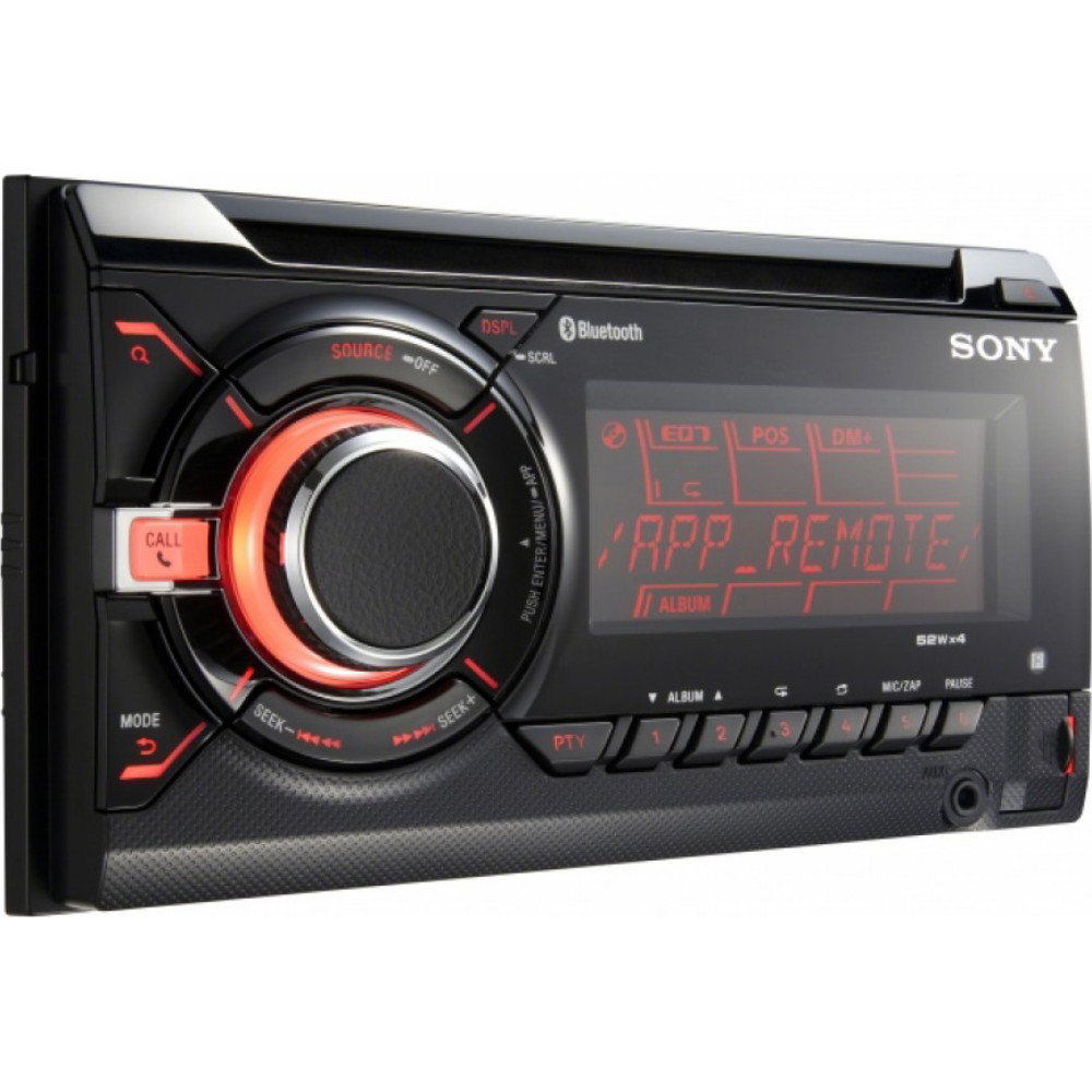 Sony WX-GT90BT Double DIN Car Stereo Radio With USB And