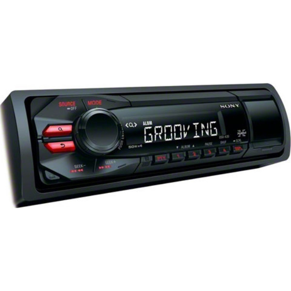 Sony DSX-A30 Mechless Car Stereo RDS Radio USB Player