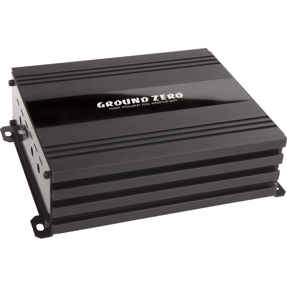 ground zero gzcs car stereo amp plug and play. Black Bedroom Furniture Sets. Home Design Ideas