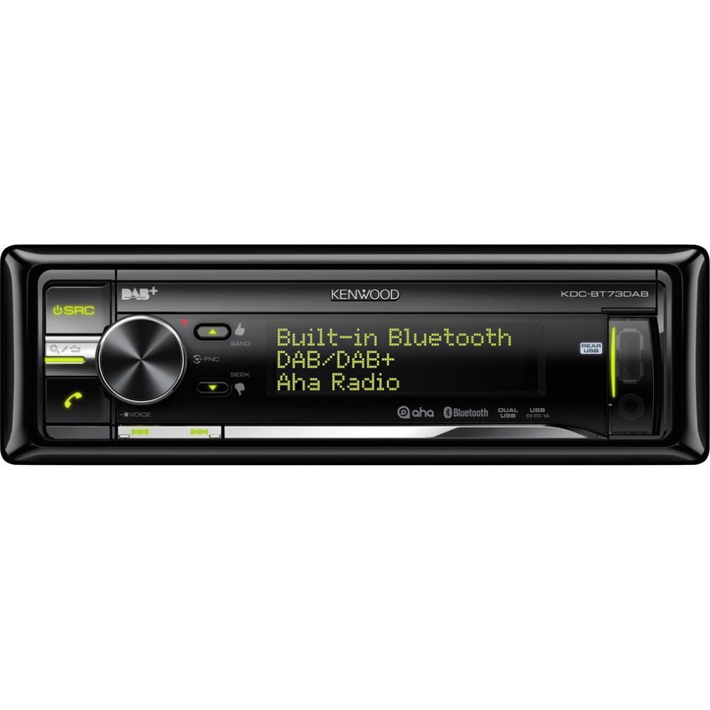 kenwood kdc bt73dab cd car stereo with dab digital radio. Black Bedroom Furniture Sets. Home Design Ideas