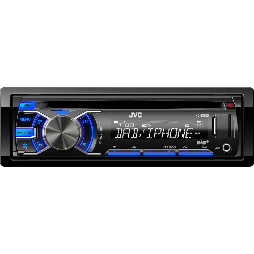 jvc kd db53at dab digital radio cd usb ipod car stereo inc. Black Bedroom Furniture Sets. Home Design Ideas