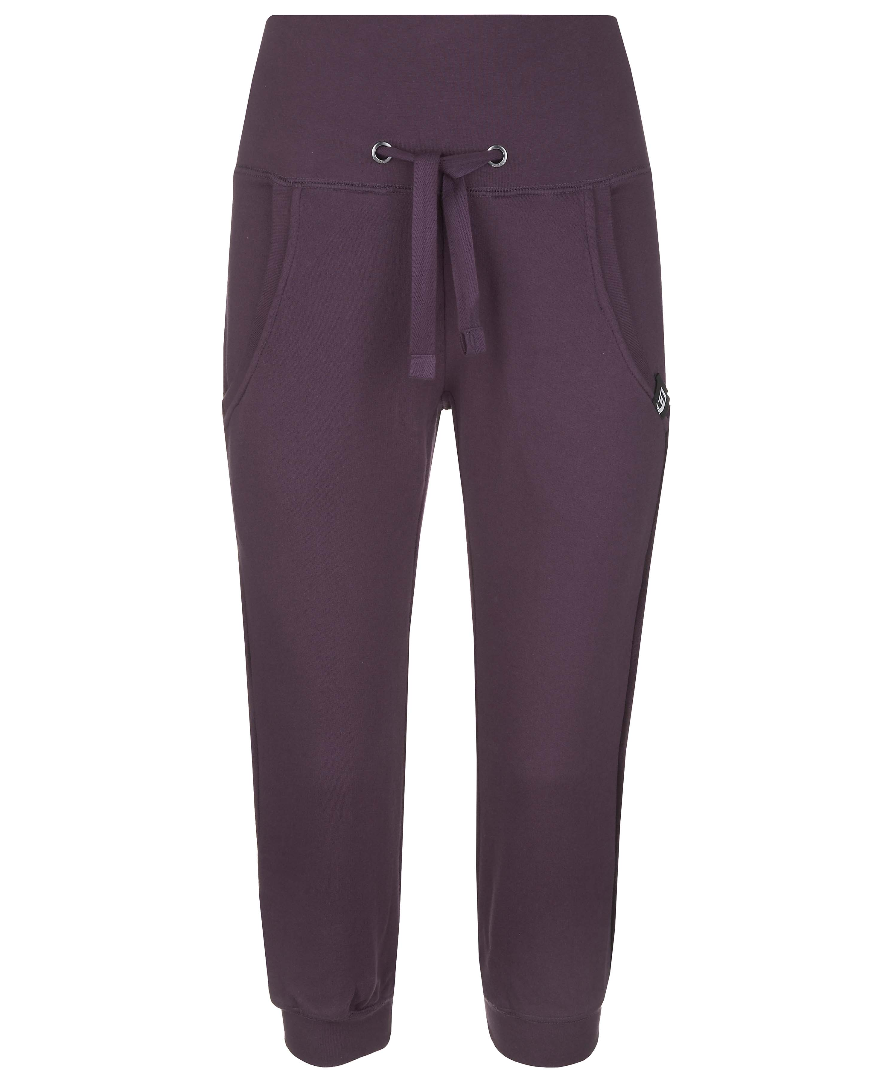 Blue-Inc-Blend-She-Womens-Cropped-Sweat-Pants-Purple