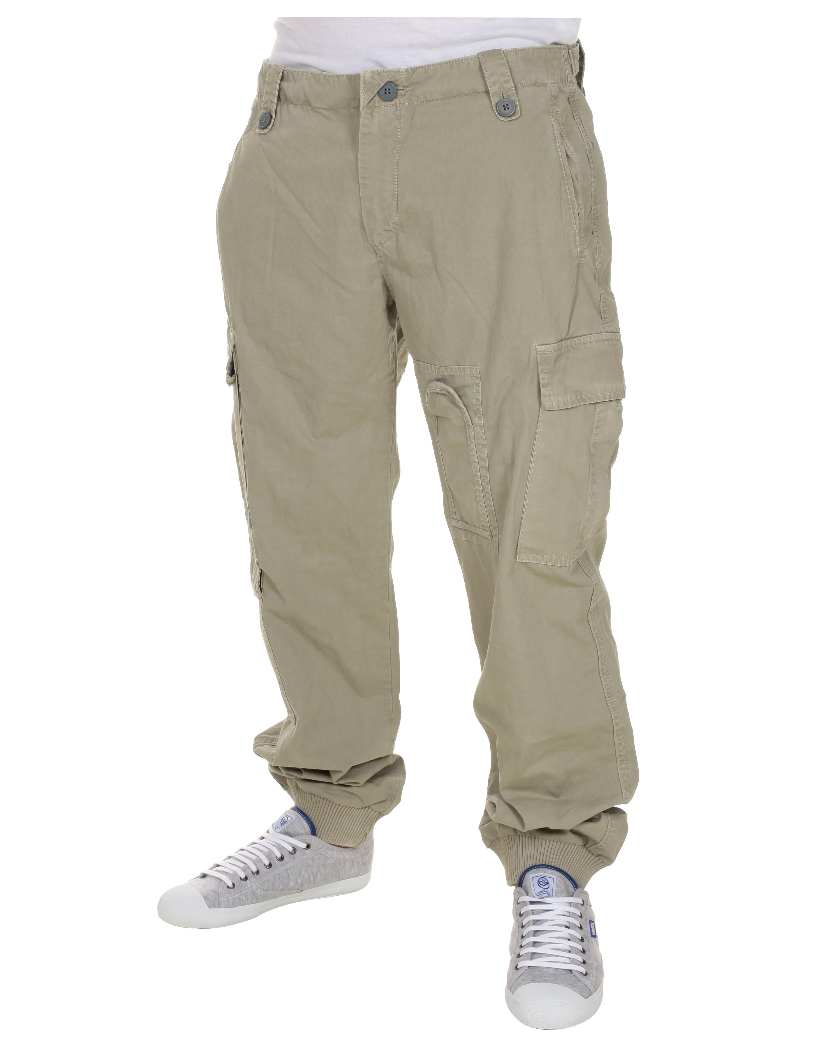 Blue-Inc-Mens-BC-London-Cotton-Combat-Trousers-Khaki