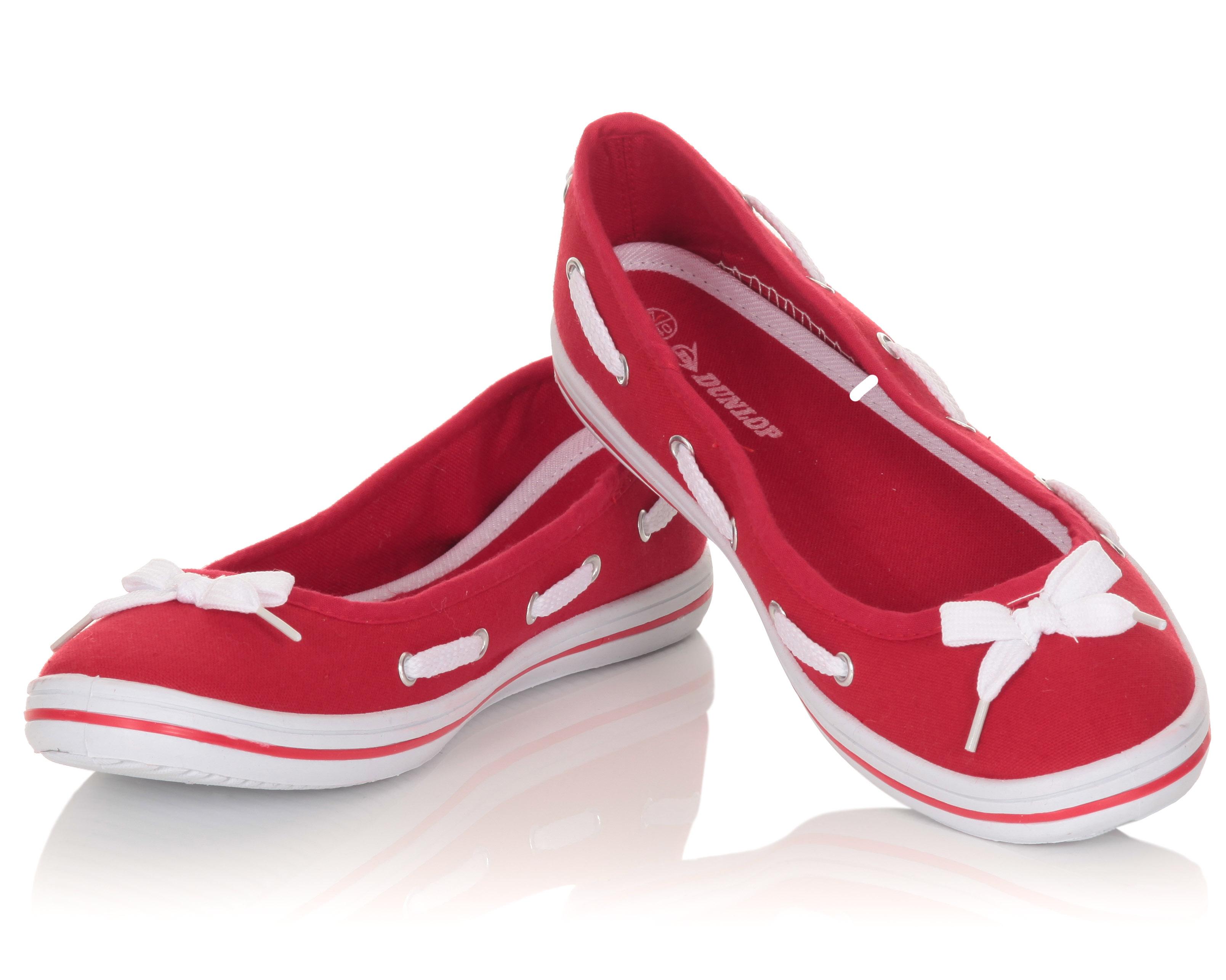 Blue-Inc-Womens-Nautical-Pump-Shoes-Red