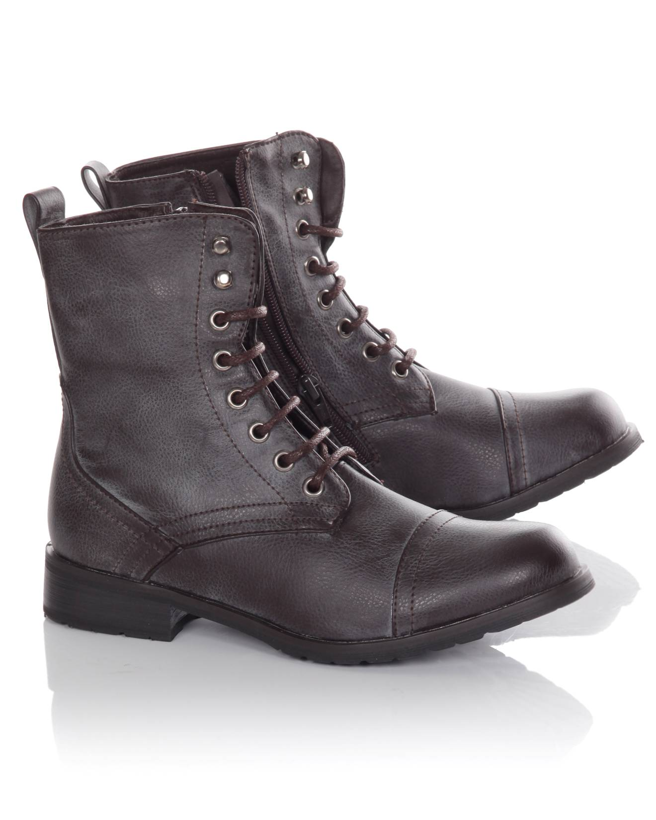 Blue-Inc-Womens-Lace-Up-Worker-Boot-Brown