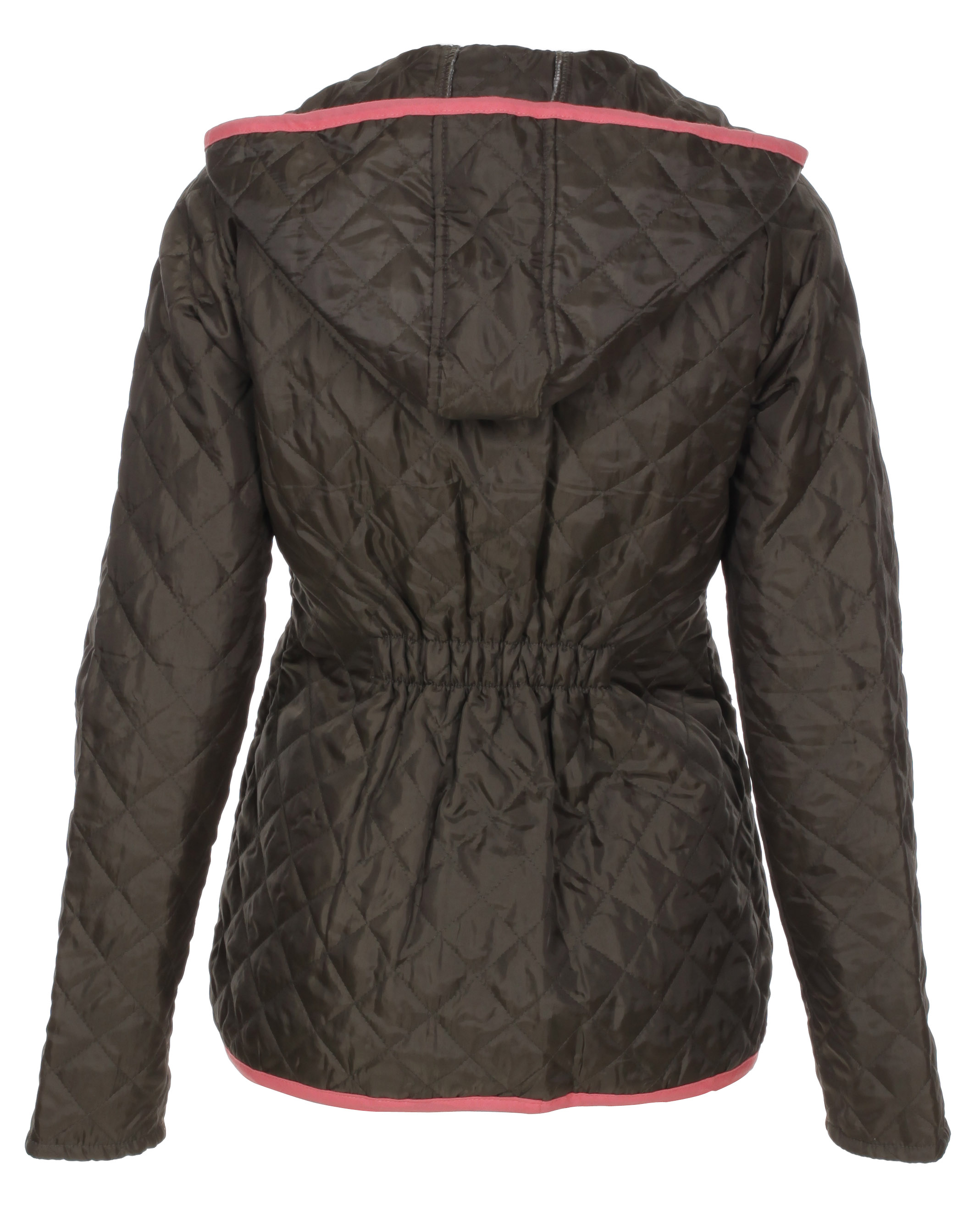 Blue-Inc-Womens-Brave-Soul-Diamond-Quilted-Jacket-Khaki