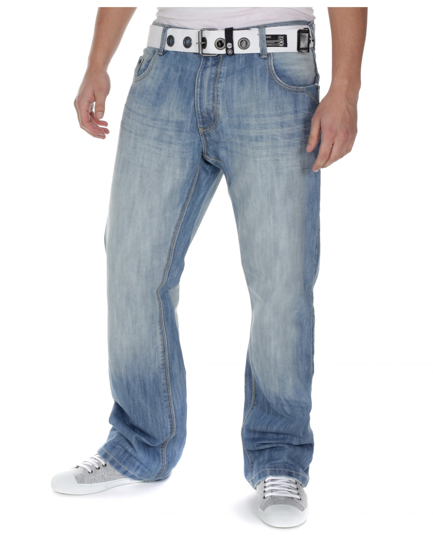 Light blue mens jeans - Jeans : Mince His Words