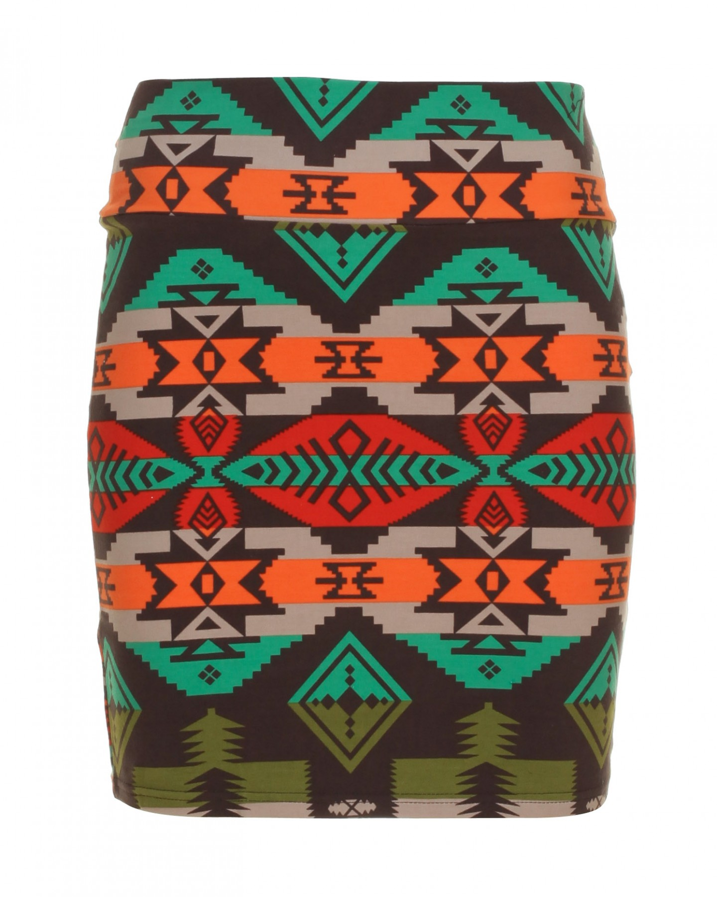 Blue-Inc-Womens-Aztec-Mini-Bodycon-Skirt-Assorted