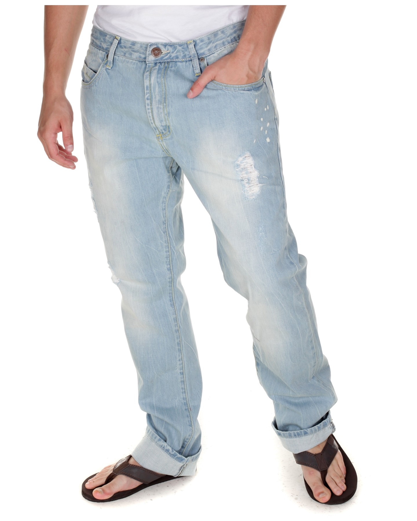 Blue-Inc-Mens-BC-London-Classic-Marble-Bleach-Straight-Leg-Jeans-in-Light-Blue