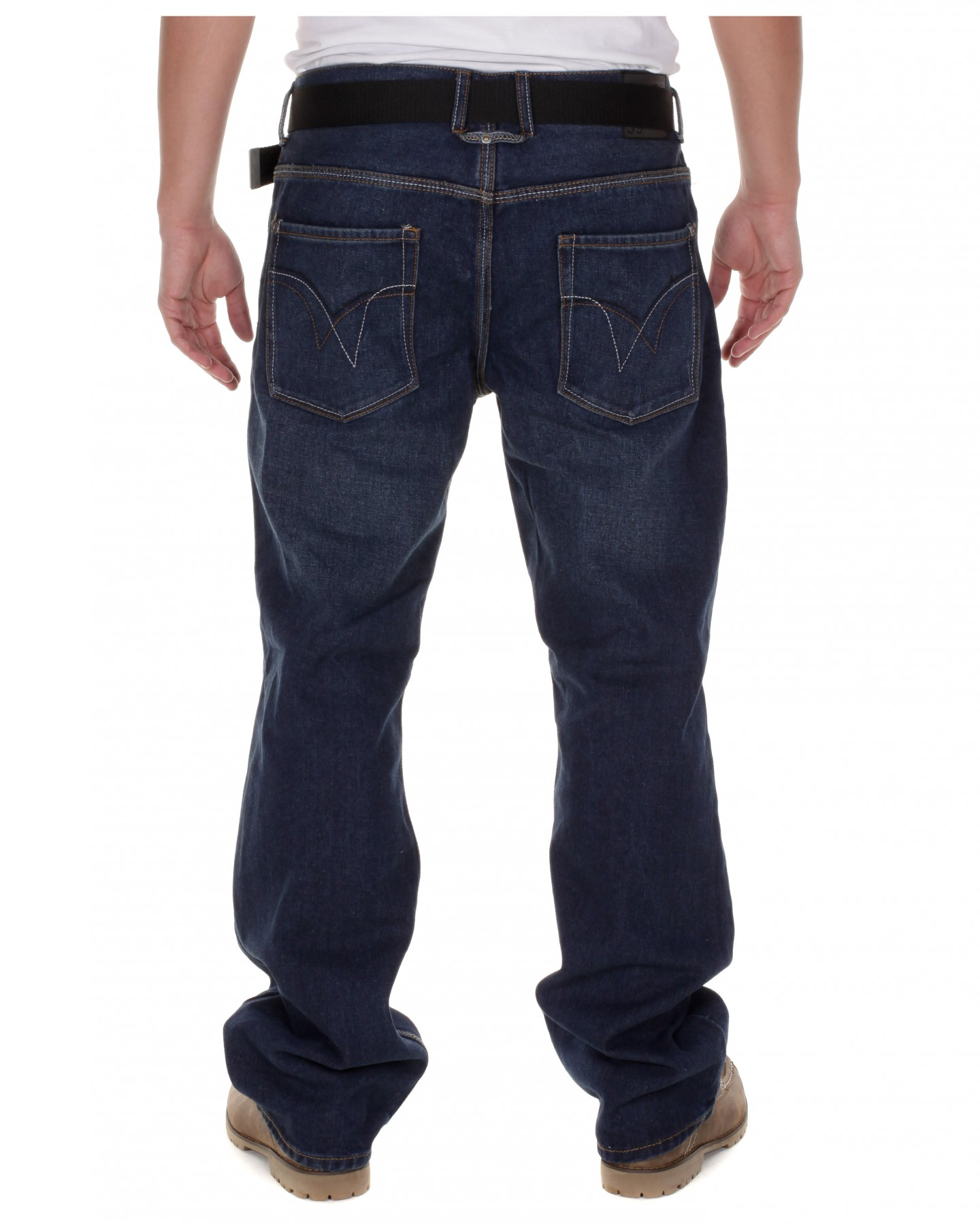 Blue-Inc-Mens-New-Anton-Bootcut-Jeans-Rinse-Wash