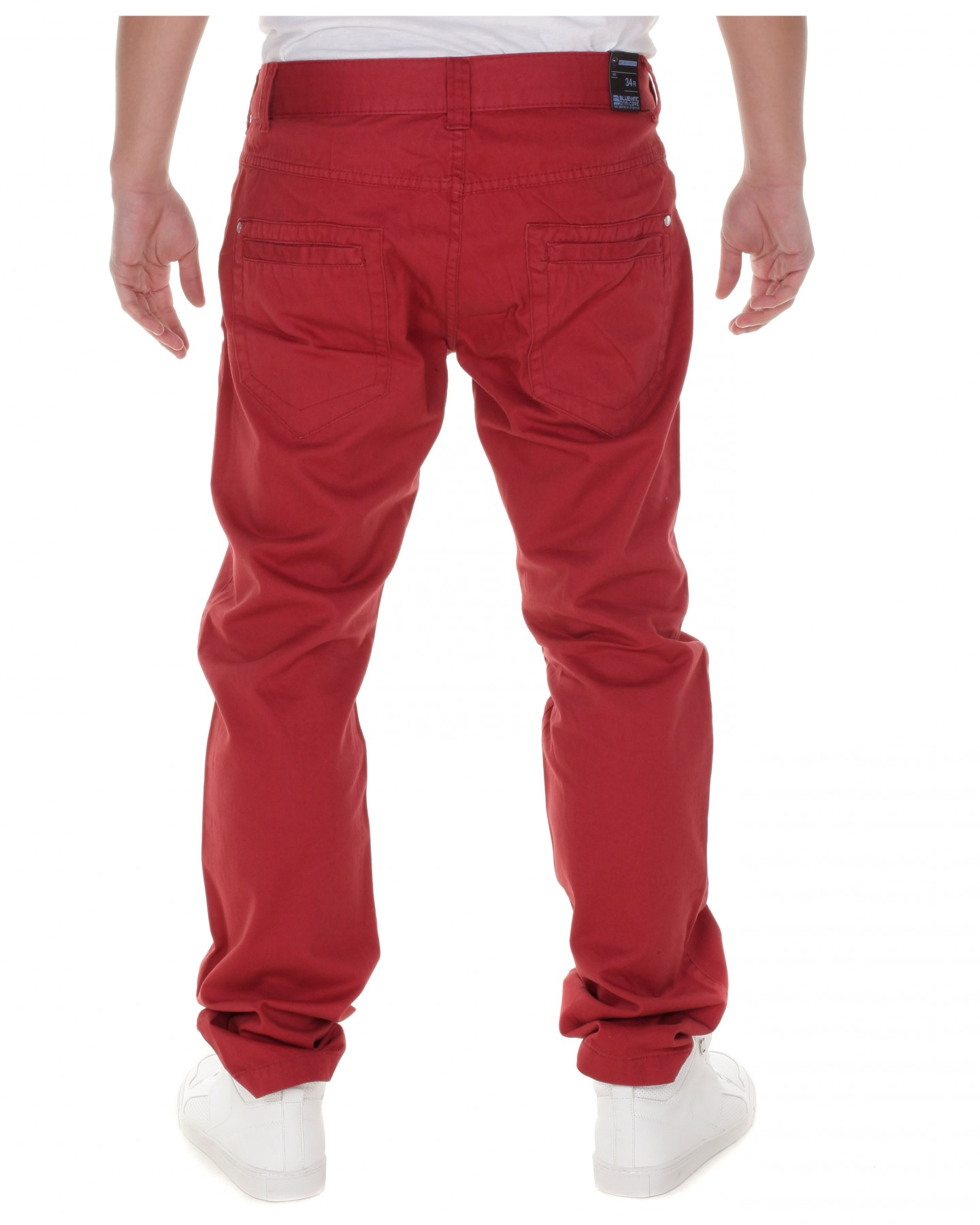 Blu-Inc-Mens-Core-Colour-Twill-Chino-Paprika-Red