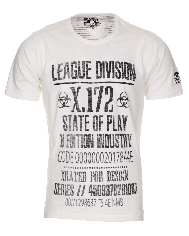 Blue-Inc-Brave-Soul-League-Division-T-Shirt-Off-White