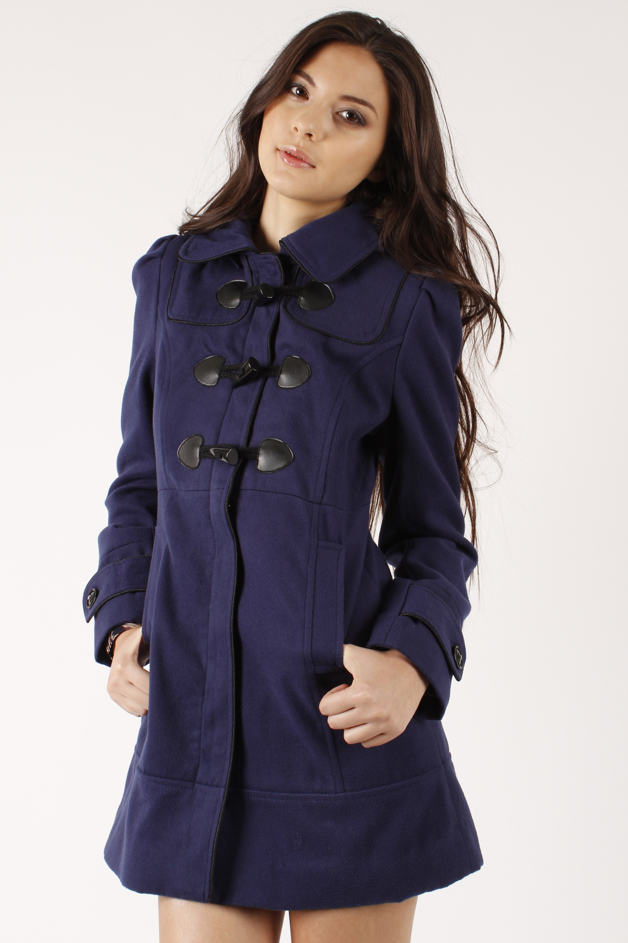 Womens toggle coats