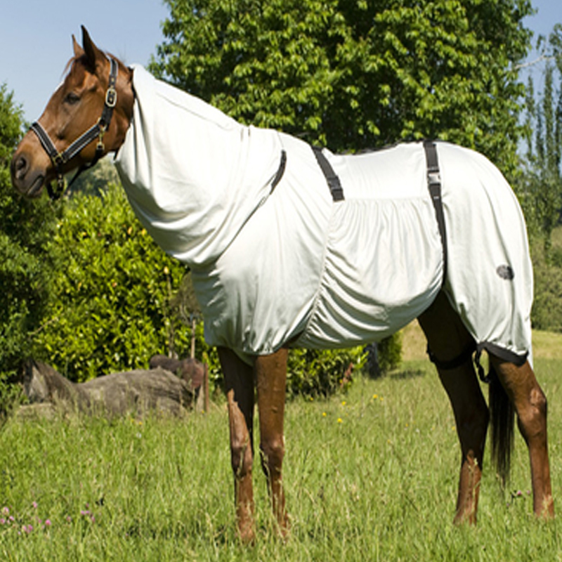 Horse-Summer-Turnout-Sweet-Itch-Bug-Fly-Rug-Combo-Blanket-Pony-Cob-Full-49-70