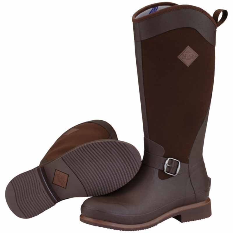 MUCK BOOT Reign Equestrian Tall Riding Country Walking Neoprene ...