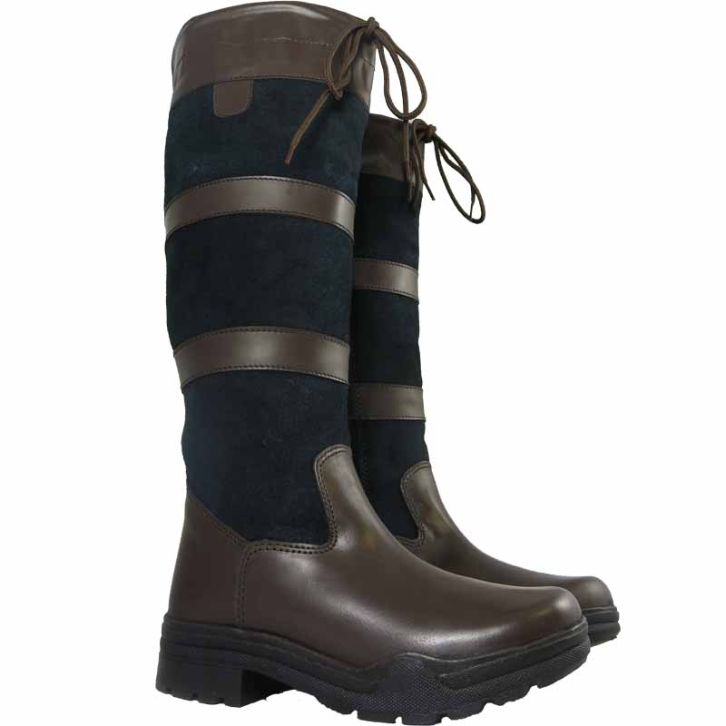 f6fbfa1899c Details about Ladies Mens Long Leather Water Resistant Country Walking  Horse Riding Tall Boots