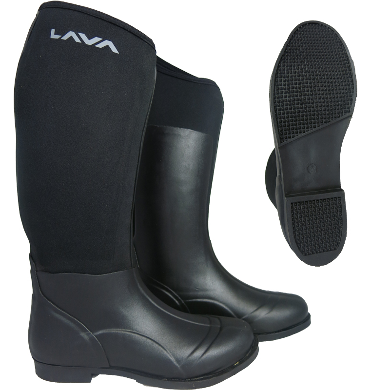 HORSE RIDING LADIES MEN WELLINGTON RUBBER MUCK BOOTS ALL SIZES ...