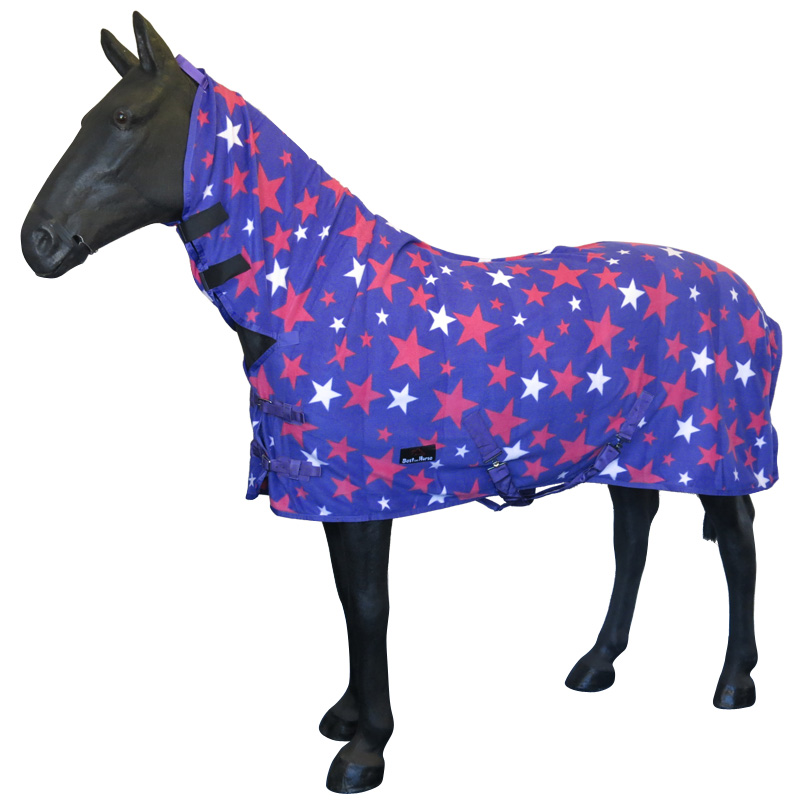 BOH New Horse Pony Winter Stable Show Travel Cover Combo Fleece Rug Size 4'0-7'0