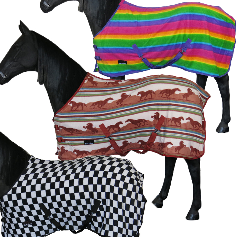 HORSE COB PONY FULL COOLER STABLE SHOW TRAVEL COMBO FLEECE RUG SHEET SIZE  4u00273