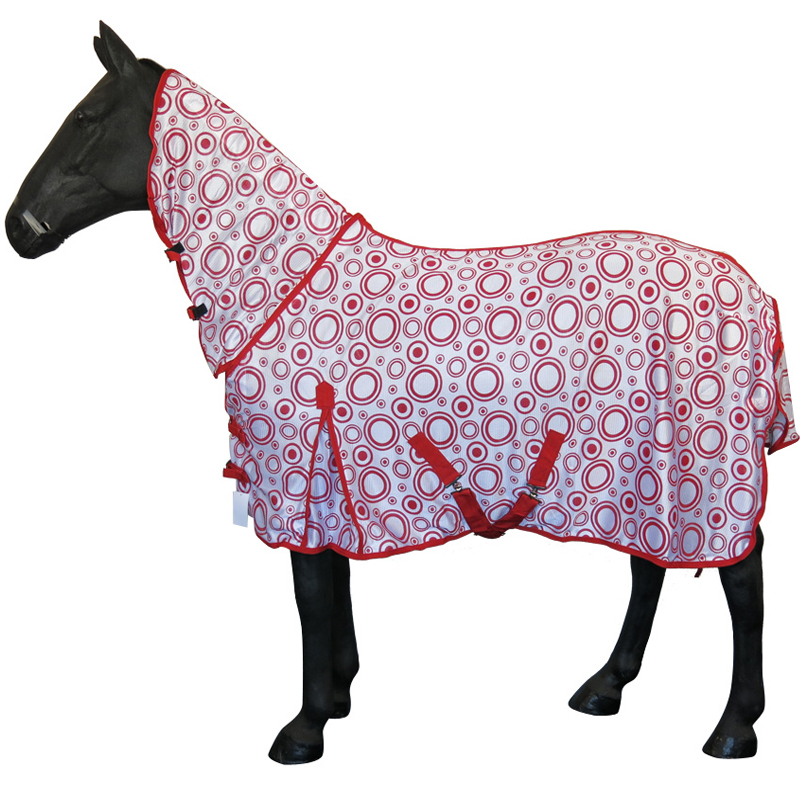 Summer Le Lightweight Turnout Outdoor Combo Neck Fly Rug Rain
