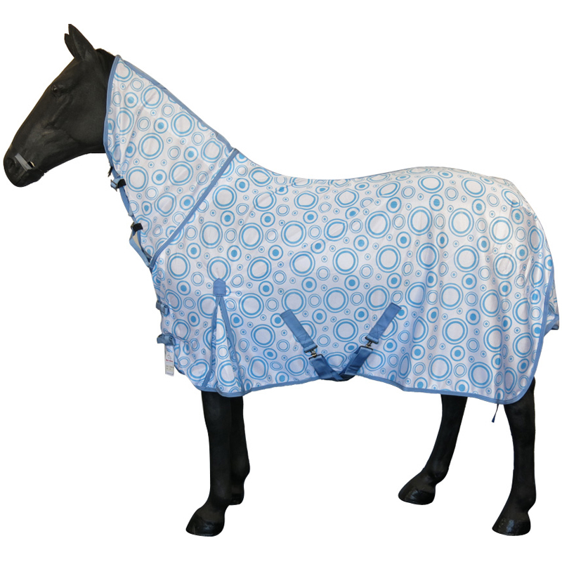 Summer Stable Lightweight Turnout Outdoor Combo Neck Fly Rug Rain Sheet 4'0 -7'0