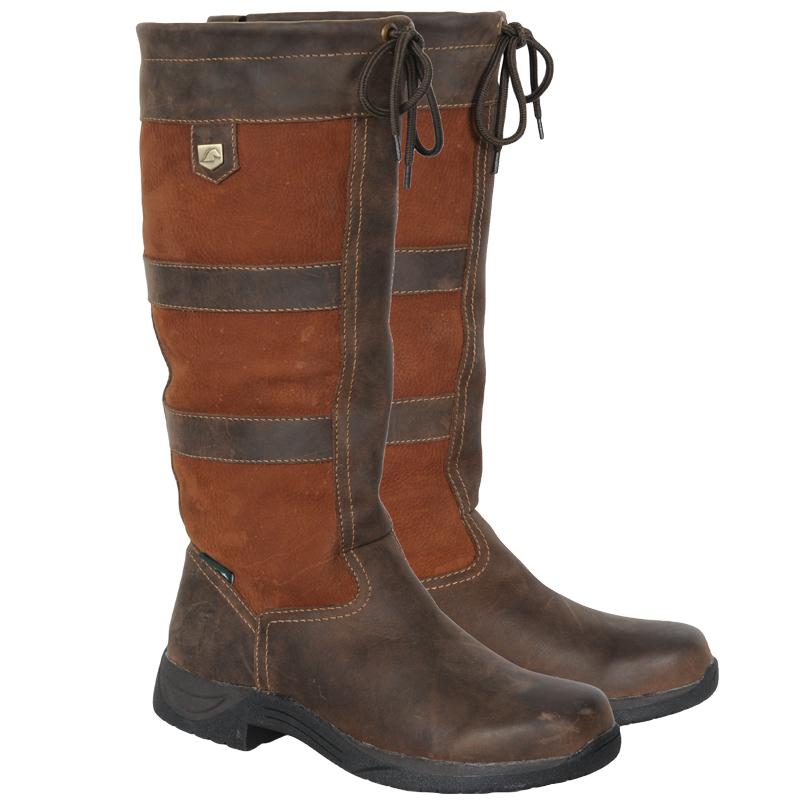 Dublin River Boots Long Mucker Horse Riding Winter Country ...
