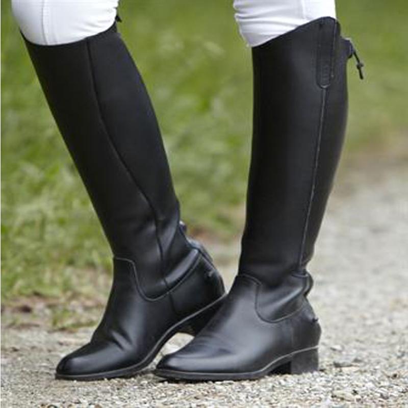 Dublin On Air Long Horse Riding Boots Tall Show Jumping
