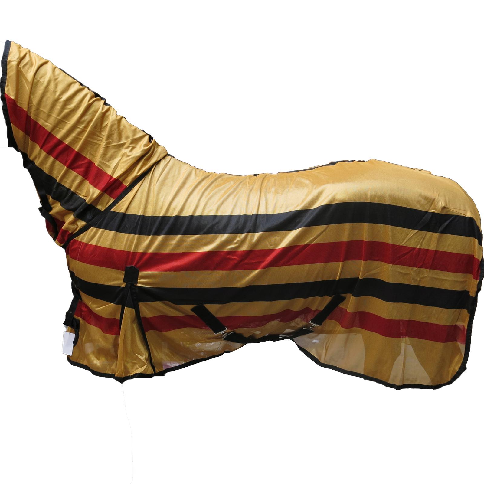 Pony Horse Bug Proctection Combo Sheet Newmarket Print Full Neck Mesh Fly Rug