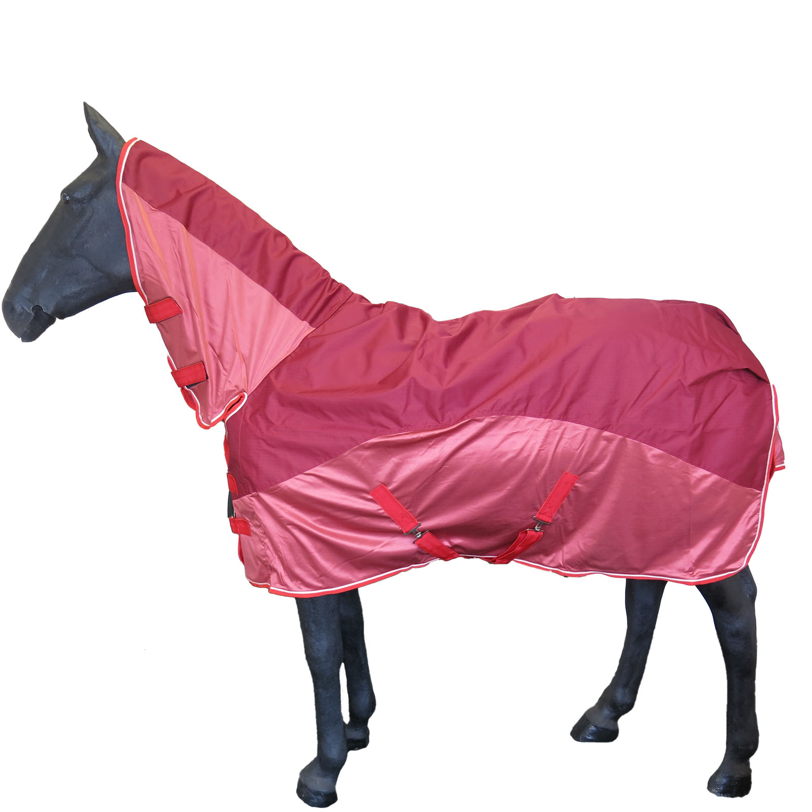 New Waterproof Combo Fly Rug Pony Horse Full Neck Rain Uv