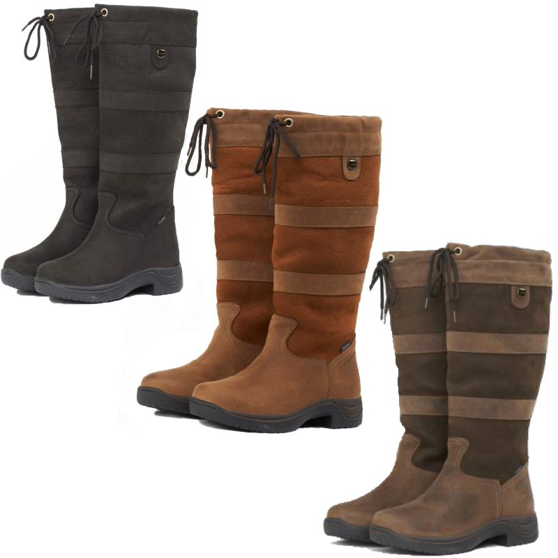 Dublin Waterprrof River Boots - Horse Riding Winter Country ...