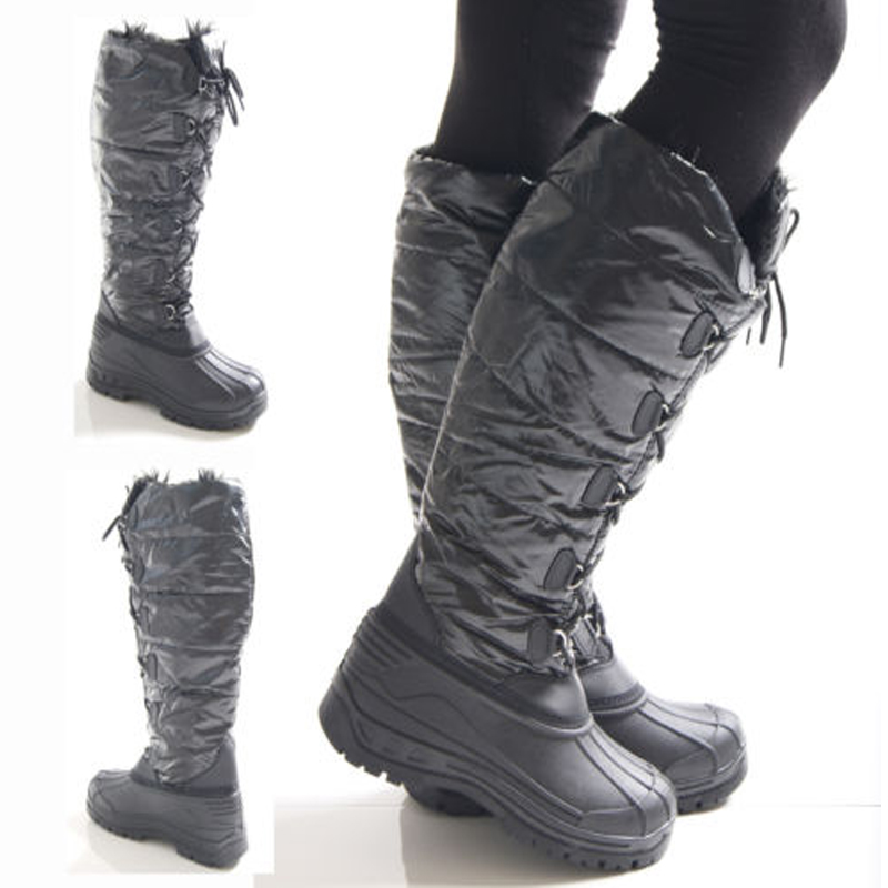 Perfect  About Pajar Aventure Women39s Faux Shearling Tall Snow Boots Waterproof