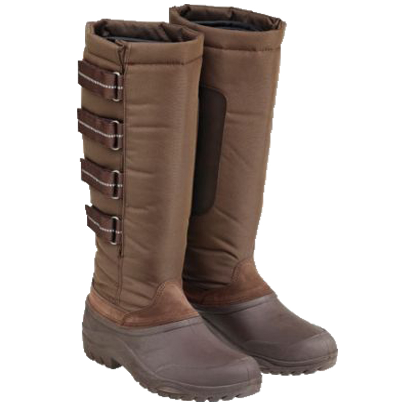 Ladies Harry Hall Tall Winter Waterproof Sole Rain Snow Walking ...