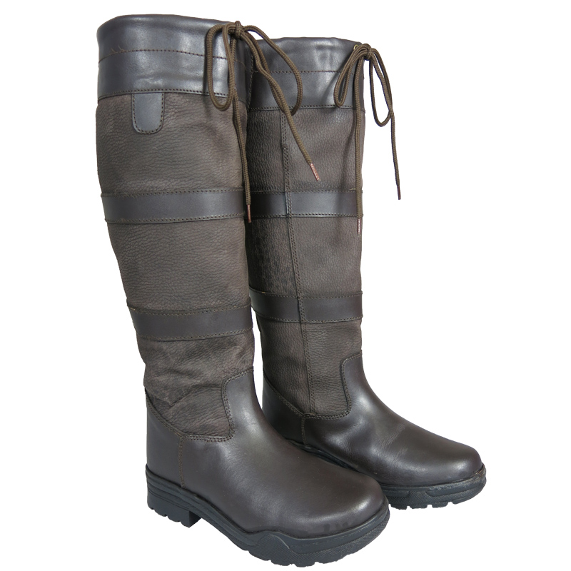 new mens stable yard walking leather