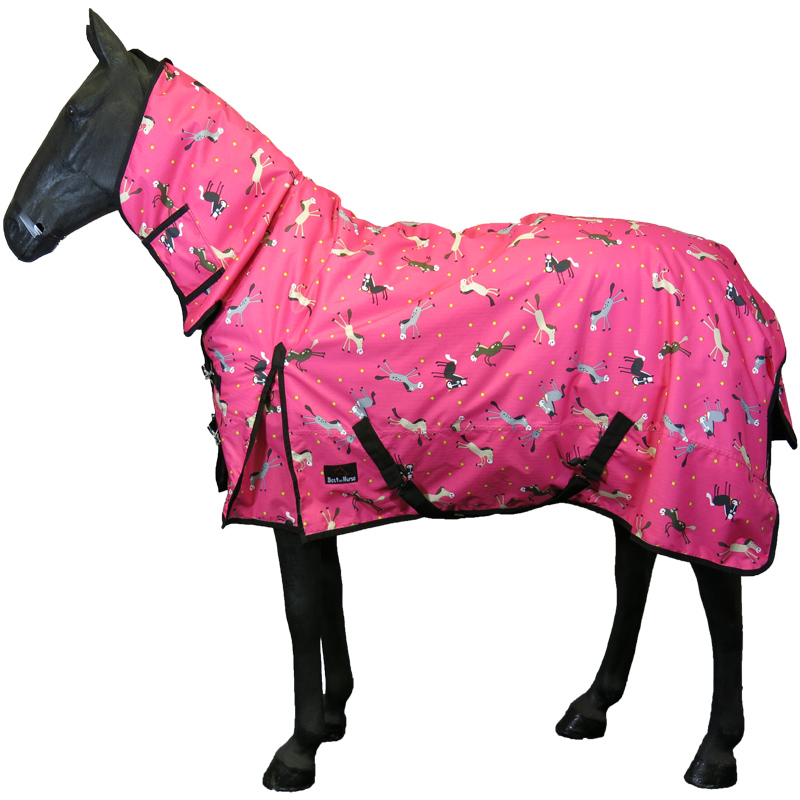 Horse Pony Winter Rain Le Lightweight Heavy Combo