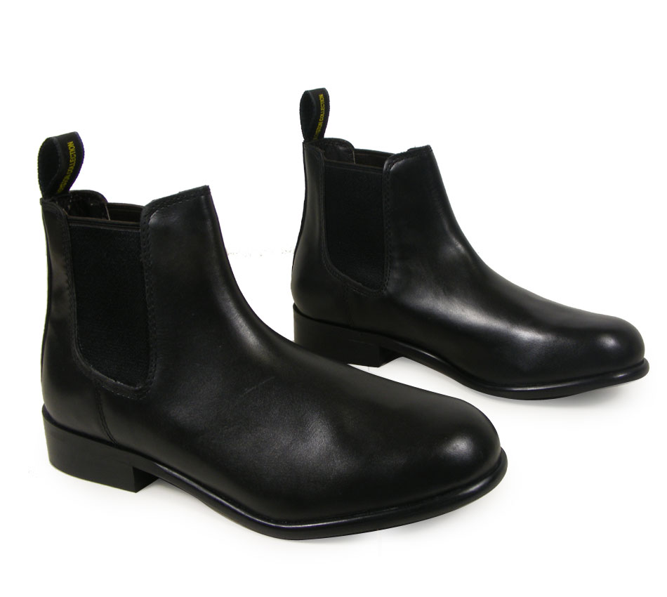 BLACK-BROWN-LEATHER-HORSE-RIDING-CHILDS-JODHPUR-ADULTS-JODPHUR-BOOTS-ALL-SIZES