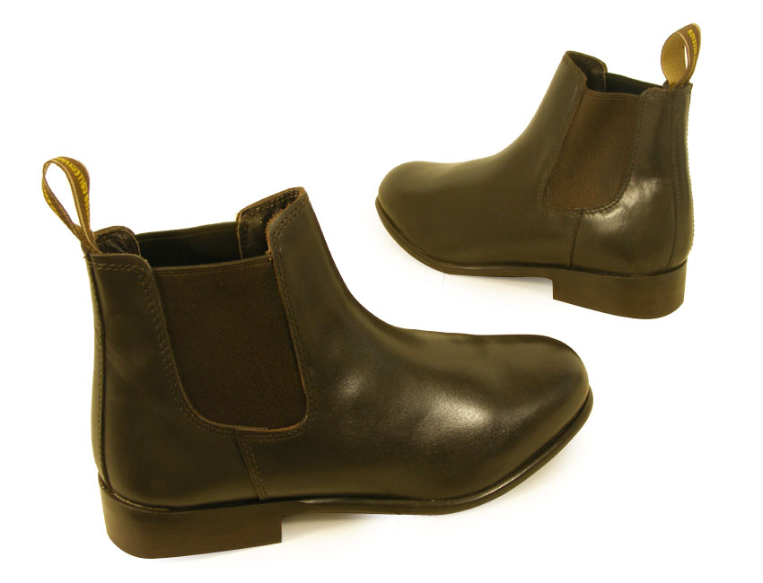 BROWN-REAL-LEATHER-HORSE-RIDING-CHILDS-JODHPUR-ADULTS-JODPHUR-BOOTS-ALL-SIZES-UK