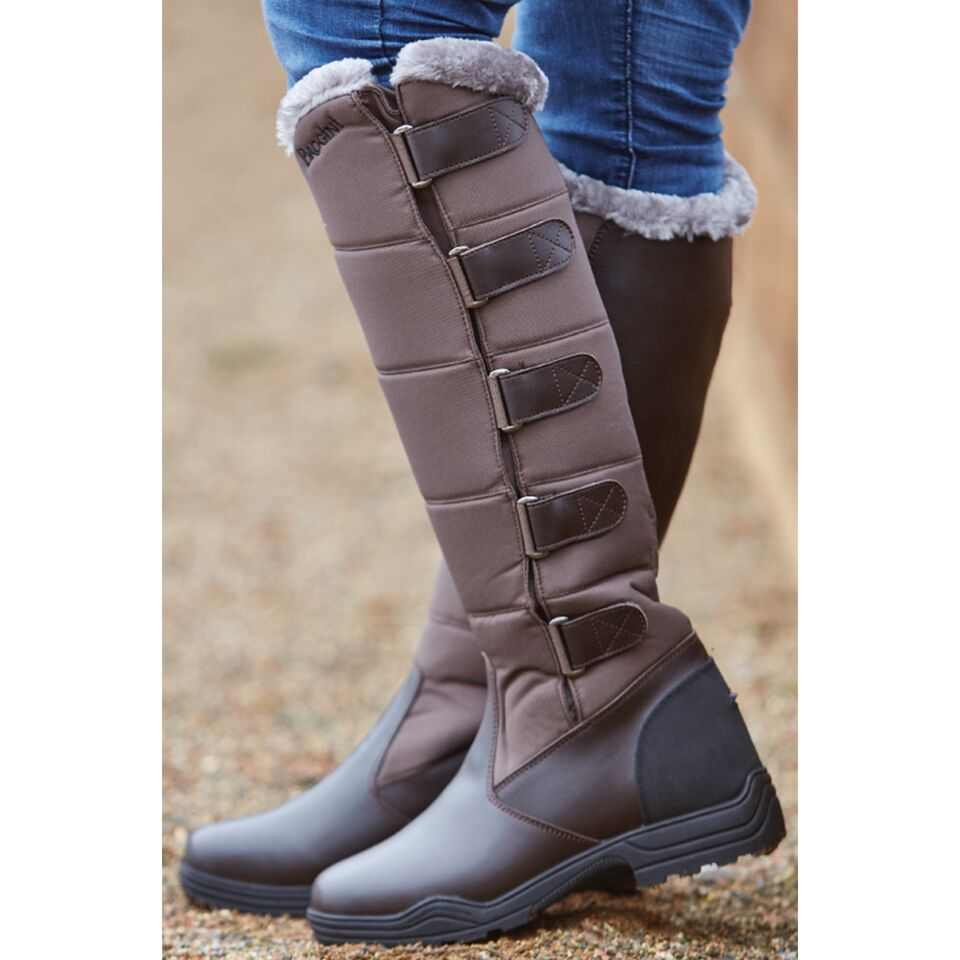 Womens Horse Riding Country Walking Long Stable Yard Furlined Warm ...