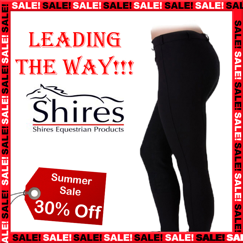 LADIES-BLACK-SHIRES-EQUESTRIAN-HORSE-RIDING-JODPHURS-SHOWING-JODHPURS-SIZE-24-34