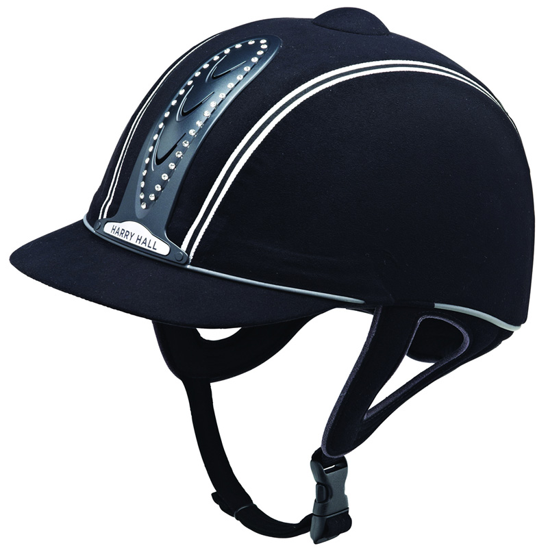 NEW-EQUESTRIAN-HARRY-HALL-LEGEND-SHOWING-RIDING-SAFETY-HAT-HELMET-ALL-SIZE-52-61