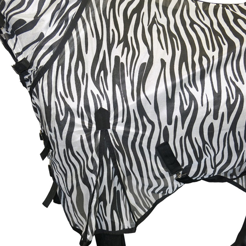 Zebra Horse Fly Rug