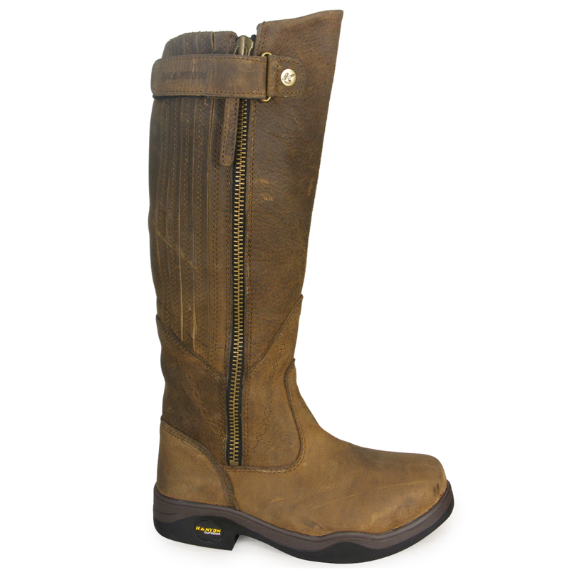 Kanyon Gorse X Rider Riding Boots Waterproof Long All ...
