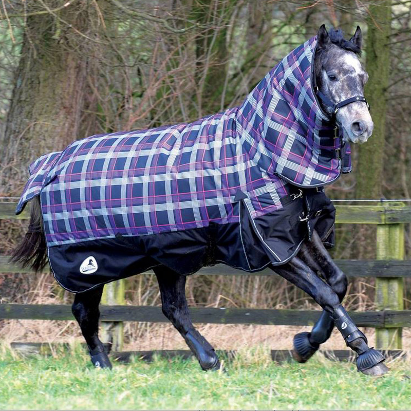 Masta Avante 600d Fixed Neck Winter Combo Heavyweight Turnout Rug Size 4u00276 7