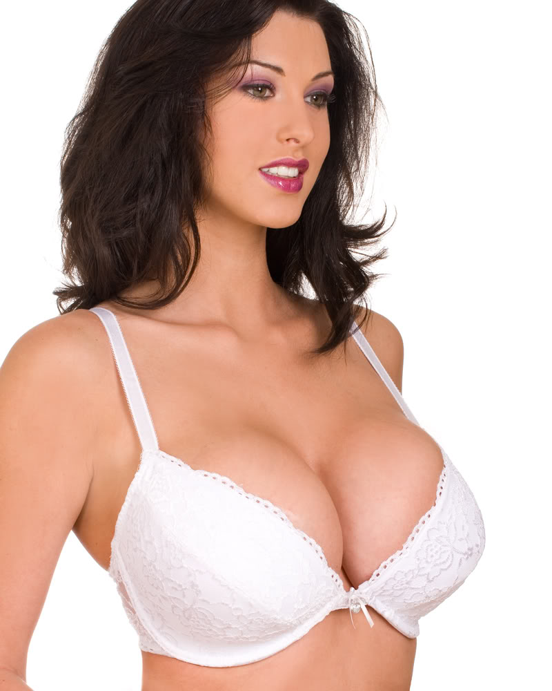 NEW-LADIES-CAMILLE-WHITE-PADDED-PLUNGE-WOMENS-LACE-LINGERIE-BRA-SIZES ... C Cup Breast Vs B Cup